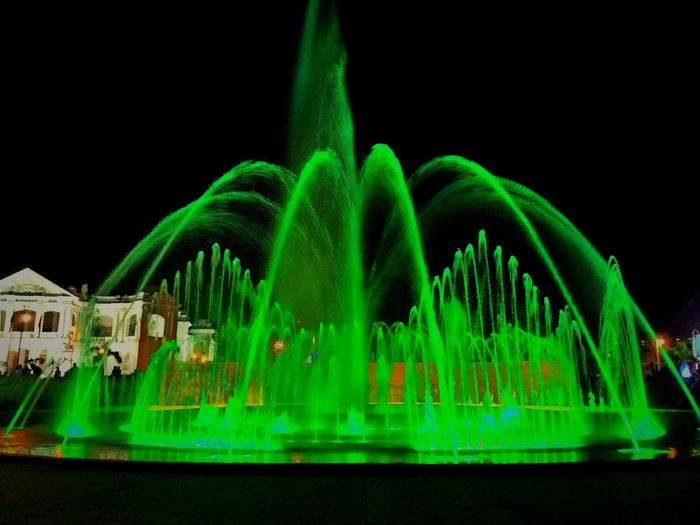 Hi! Check This Out Taking Photos Enjoying Life Hanging Out Beautiful Place Enjoy Vacation In Ipoh Night Traveling Fountain light Colour