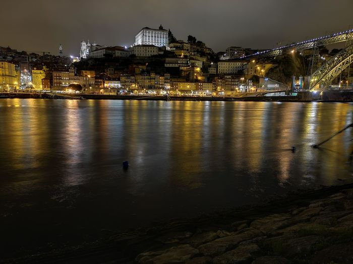 Ribeira, rio Douro e cais de Gaia Porto Portugal 🇵🇹 Porto Stories from the City Portugal Historia De Portugal Ponte Luis I Rio Douro Rio Douro Portugal Rio Douro River Caisdegaia Ribeira Do Porto Boots EyeEm Selects City Cityscape Illuminated Water Urban Skyline Reflection Sky Architecture Building Exterior
