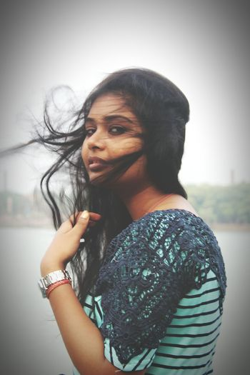EyeEm Selects Only Women One Woman Only One Person Adults Only Adult Standing People Portrait Casual Clothing Beautiful Woman Women One Young Woman Only Outdoors Looking At Camera Day Beauty Human Body Part Young Adult Young Women City Riverside Candidshot
