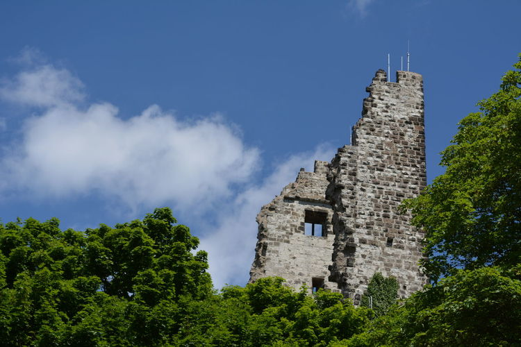 Drachenfels Drachenfels Tourist Attraction  Architecture Castle Cloud - Sky Day Germany History Low Angle View No People Outdoors Sky