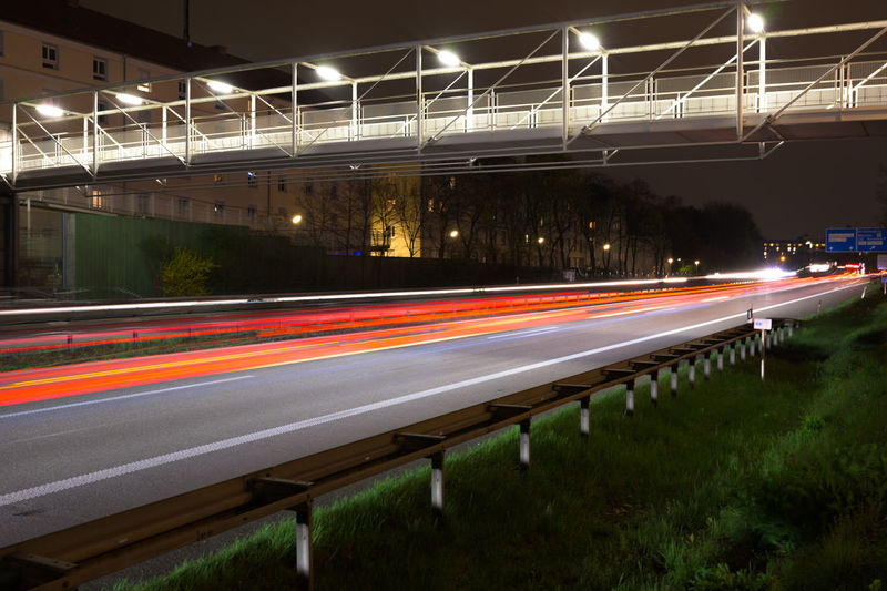 Go-west-photography.com Long Exposure Light Trail Illuminated Speed Blurred Motion Motion Transportation Night Road City Architecture No People Built Structure Street Tail Light City Life Nature Glowing Traffic on the move Outdoors Bridge - Man Made Structure Vehicle Light Nikon Z7