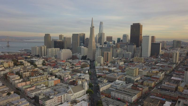 San Francisco skyline Mavic Pro Mavic DJI Mavic Pro Dji Kearny Street Charles Schwab Wells Fargo Center BART Salesforce Tower Embarcadero Transamerica Pyramid TransAmericaBuilding Architecture Skyscraper Cityscape Building Exterior City Sky No People Urban Skyline Built Structure Cloud - Sky Outdoors Modern Sunset Day An Eye For Travel EyeEmNewHere Mobility In Mega Cities Mobility In Mega Cities California Dreamin