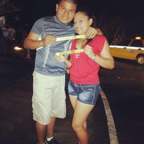 Partynight TecnoRumba NovatadasUTP Cocle ft @mayulisdelcarmenoses Con lluvia y tooo pero llegamos