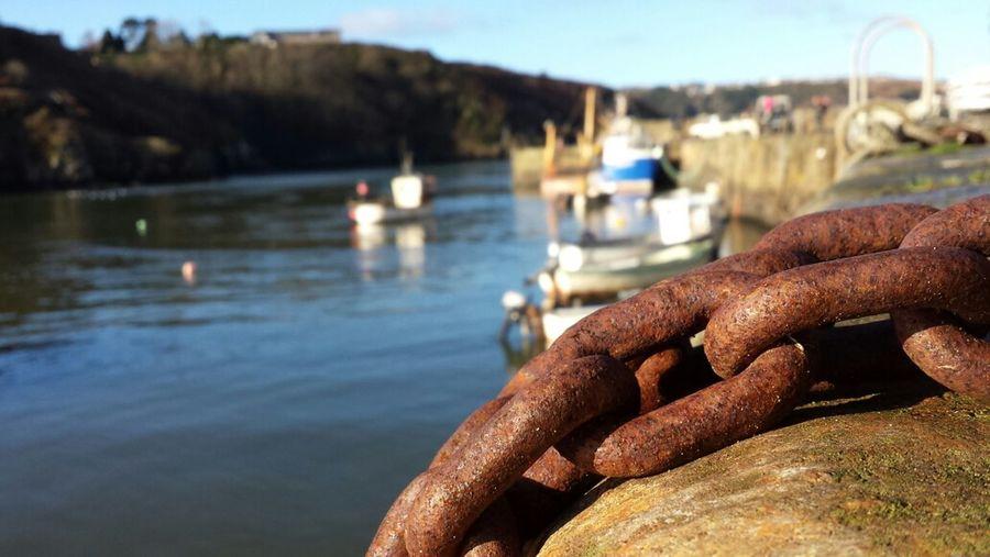 Pembrokeshire Fishguard Seaside Boats