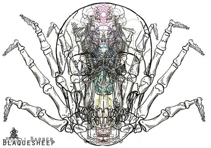 ✌️Houseofphoenixeleven Barberblaquesheep Art Drawing Digitaldrawing Artist Artistsoninstagram Visionaryart Digitalart  Sacredgeometry Design Anatomical Anatomicallyincorrect 'things we see with our eyes closed' 420 Inspiration Startraveller EARTHLING Arachnid Chakras Fingers Feet