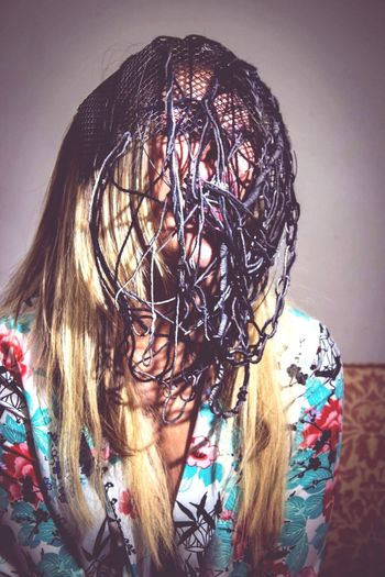 Young Adult Mask - Disguise A#messy Hair 🙀