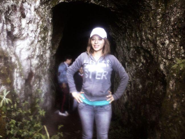 En el Cerro, en la Cueva de Zacapu Michoacan
