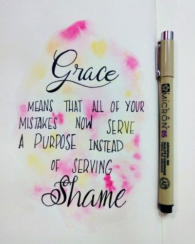 Bulletjournal Bulletjournaling Grace Handlettering Pigmamicron Qoutes Quoteoftheday