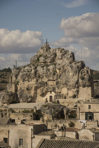 Archeological Site Architecture Day Eye4photography  EyeEm EyeEm Gallery EyeEm Nature Lover Film Set History Mel Gibson No People Outdoors Sassi Di Matera Sky The Passion Of The Christ.