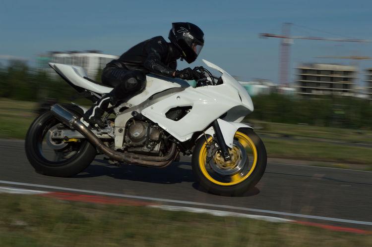 Helmet White Black Motocross Biker Headwear Stunt Extreme Sports Motorsport Sports Track Sport Motorcycle Adventure Customized Motorcycle Racing Leather