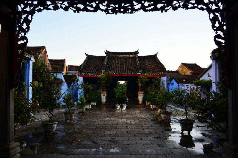 A temple in Hoi An Temple Hoi An Vietnam Oriental Backpacking