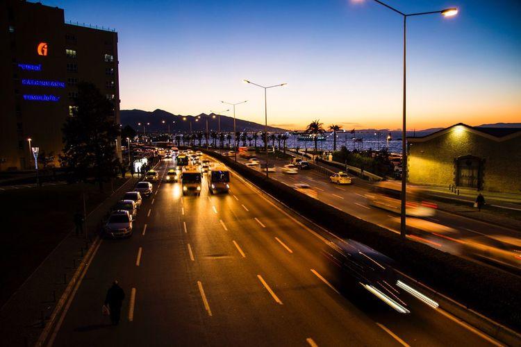 Learn & Shoot: After Dark Izmir Izmirlife Cars Traffic Travel Photography Turkey Türkiye Turkish Canon Canonphotography Canon_photos