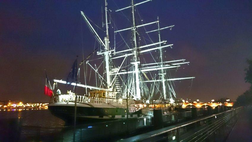 Night Harbor Nautical Vessel