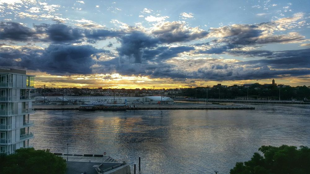 Sunset Galaxys6 Clouds Clouds And Sky Water