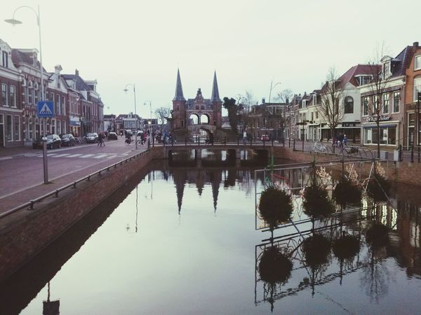 Waterpoort ( Watergate ) of Sneek Snits