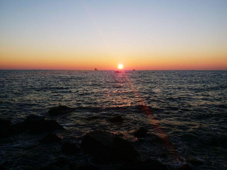 Sunset Beauty In Nature Scenics Nature Beach Sky Sun