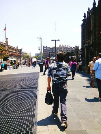 Walking People Men Mexico Day Sky City The Street Photographer - 2017 EyeEm Awards