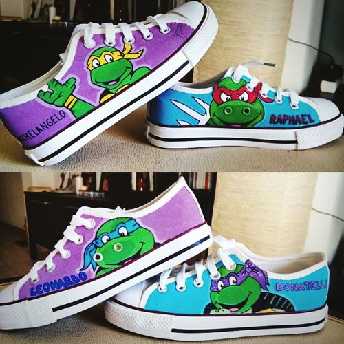 Zapatillascustomizadas Customshoes Tortugasninja