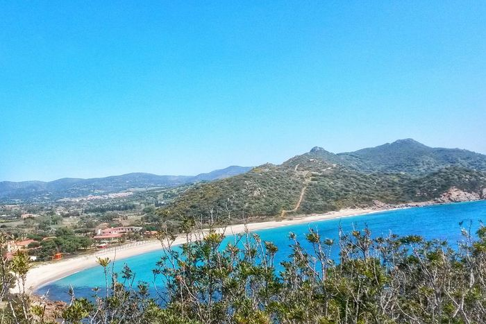 Blue Mountain Clear Sky Nature No People Landscape Tranquility Sky Water Seascape scenics Beauty In Nature Sardinia Sardegna Italy Calm Peace Peaceful Sardinia View From Above View Panoramic View Panorama CA Beach Cagliari EyeEmNewHere