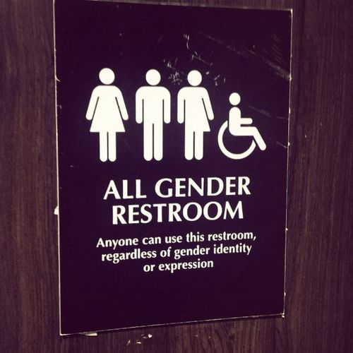 Found this in office GenderEquality Lgbt Accenture Bangalore LetsMakeADifference WashroomDiaries InstaWashroom
