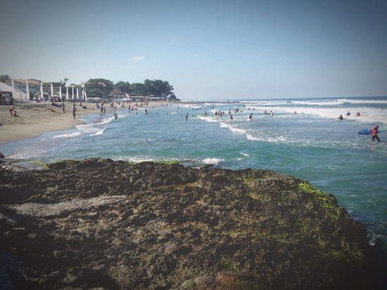 Hello World Enjoying Life Waves Beach Beautifulday Surf Surfing