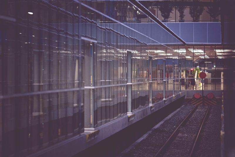 Taking Photos Knia Trainstation