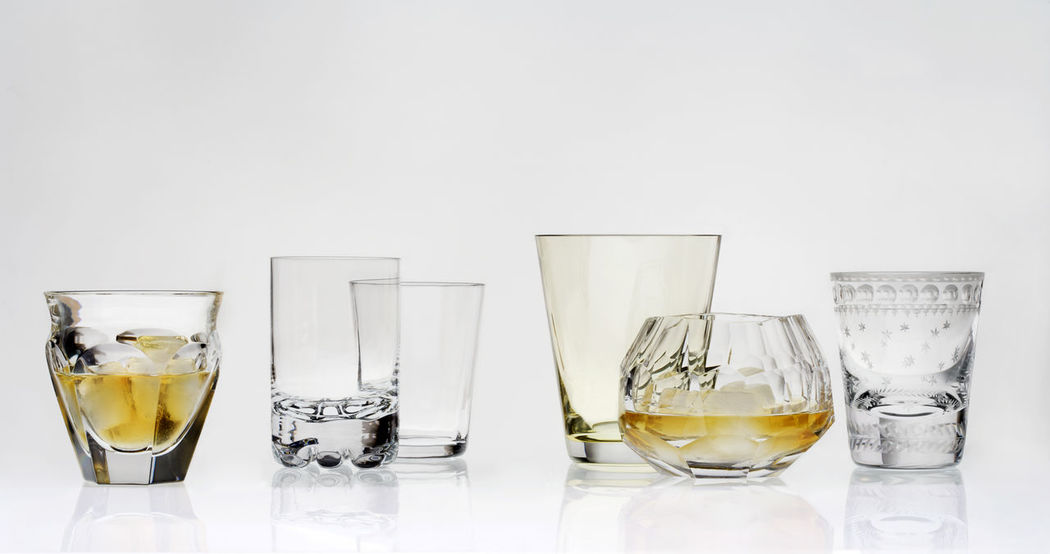 Alcohol Champagne Flute Close-up Day Design Drink Drinking Glass Food And Drink Freshness Indoors  Liqueur No People Party Refreshment Shot Glass Studio Shot Table Tequila - Drink Water White Background Wine Wineglass