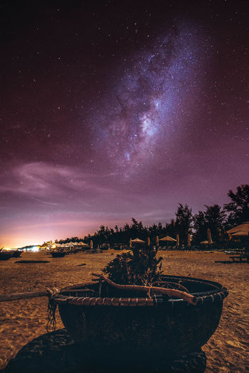 Night Nightphotography Moon Night Lights Vietnam Vietnamese Milky Way Astronomy Galaxy Space Milky Way Star - Space Constellation Tree Astrology Sign Sky