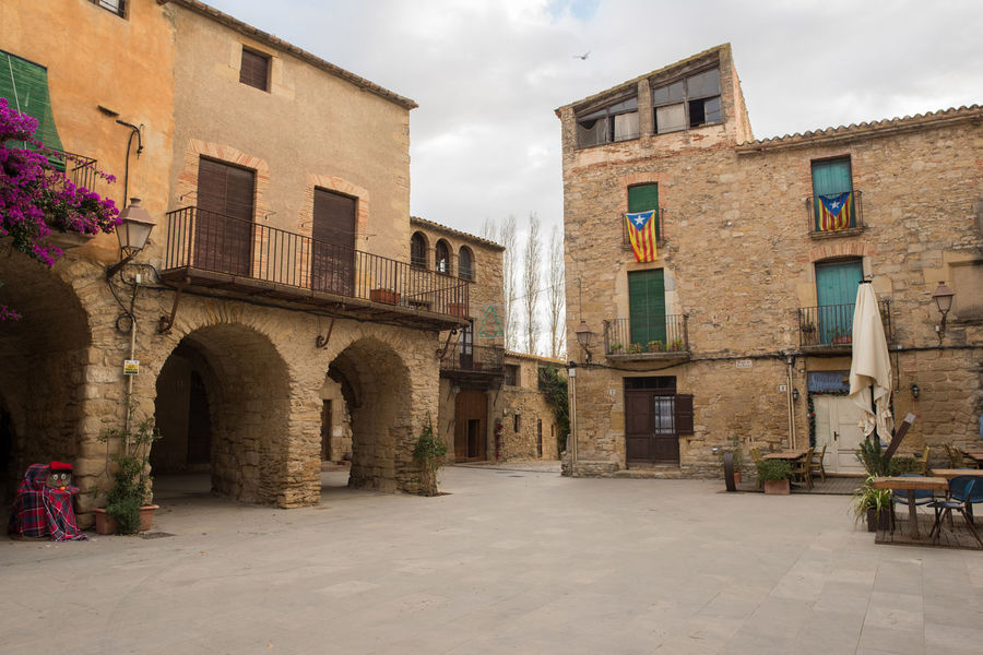 Catalonia Country Rural SPAIN Architecture Building Exterior Built Structure Day Girón Medieval No People Old Outdoors Peratallada Sky Window