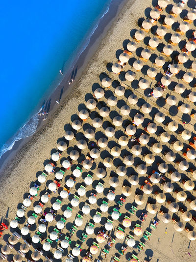 Water Large Group Of Objects High Angle View Abundance Day Outdoors No People Beach Sea Nature Sky DJI Phantom 4 Droneshot Travel Luxury Luxury Lifestyle Aerial View Vacations Beauty Vacation Time