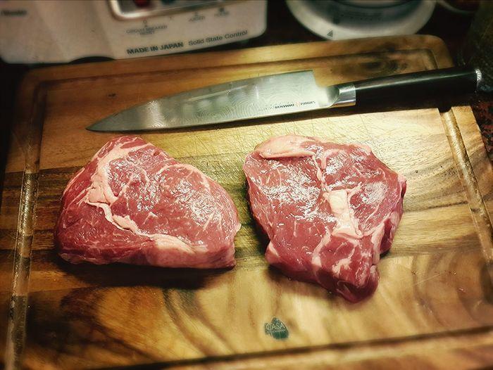 Ribeye steak Cooking A Meal