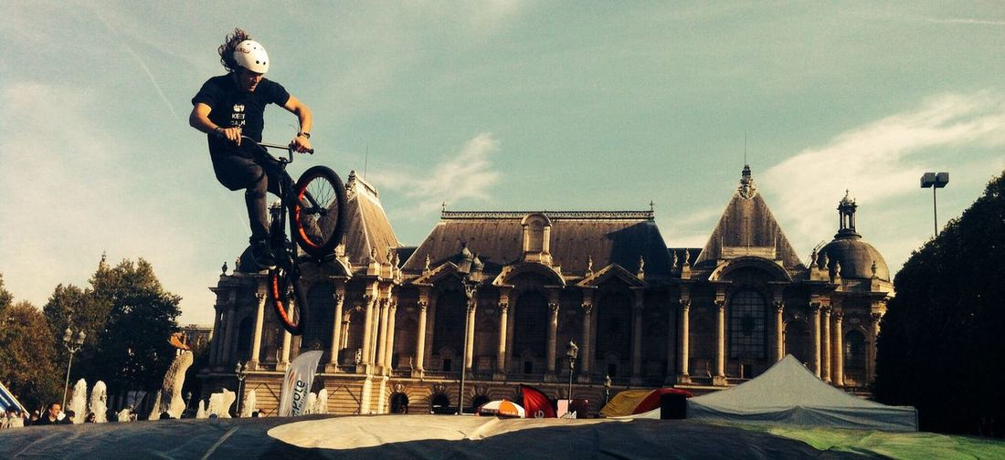 Bmx rider at lille