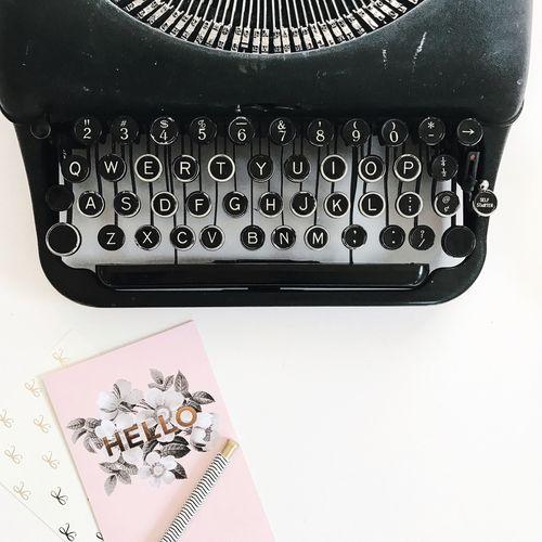 Vintage Typewriter | photostyling Typewriter Table Alphabet Paper No People Close-up Indoors  Day Photostyling