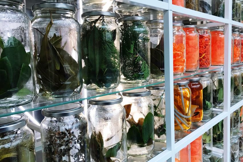 Glasgemüse Glass - Material Jar Variation Container Indoors  No People Bottle Food Retail  Healthy Eating Freshness