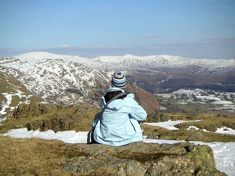 The Lake District  Senic Snow And Ice  Taking Photos Landscape Relaxing