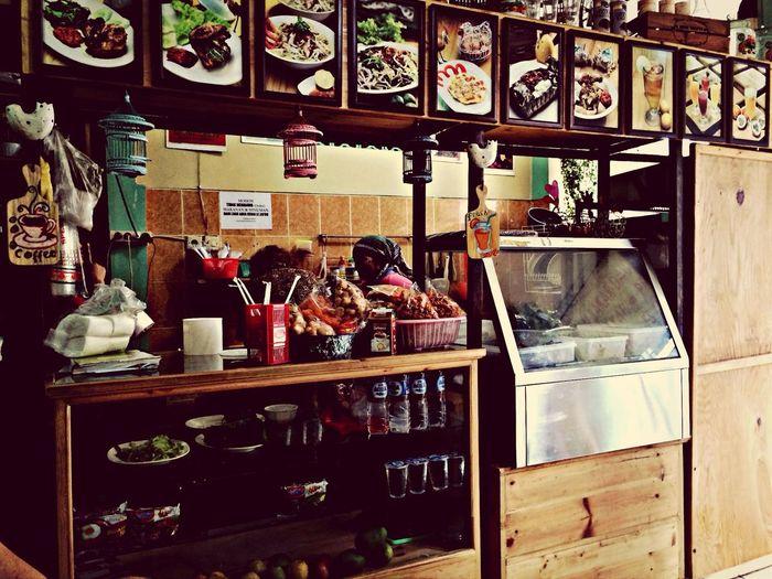 Food court Jakarta Hello World