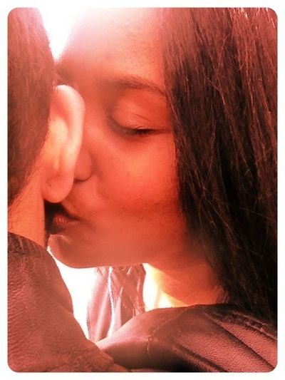 I'm so missing mera pyaar ❤. Love Sonu&Chelle RePicture Love Kiss