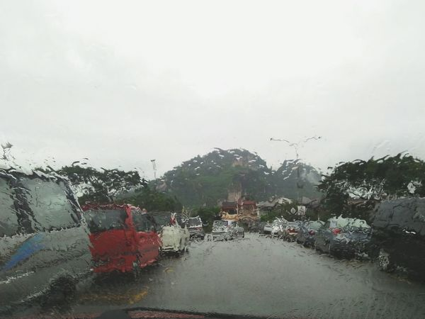 raining Wet No People Water Window Car Day Transportation Outdoors Nature