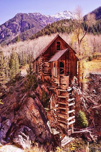 The Secret Spaces Colorado Nature Mountain Day Outdoors Architecture Sky Wood - Material Hiking Adventure Trekking Backpacking Travel The Architect - 2018 EyeEm Awards The Traveler - 2018 EyeEm Awards