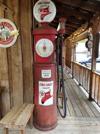 Gas pump, nostalgia, nostalgic No People Transportation Vintage Look