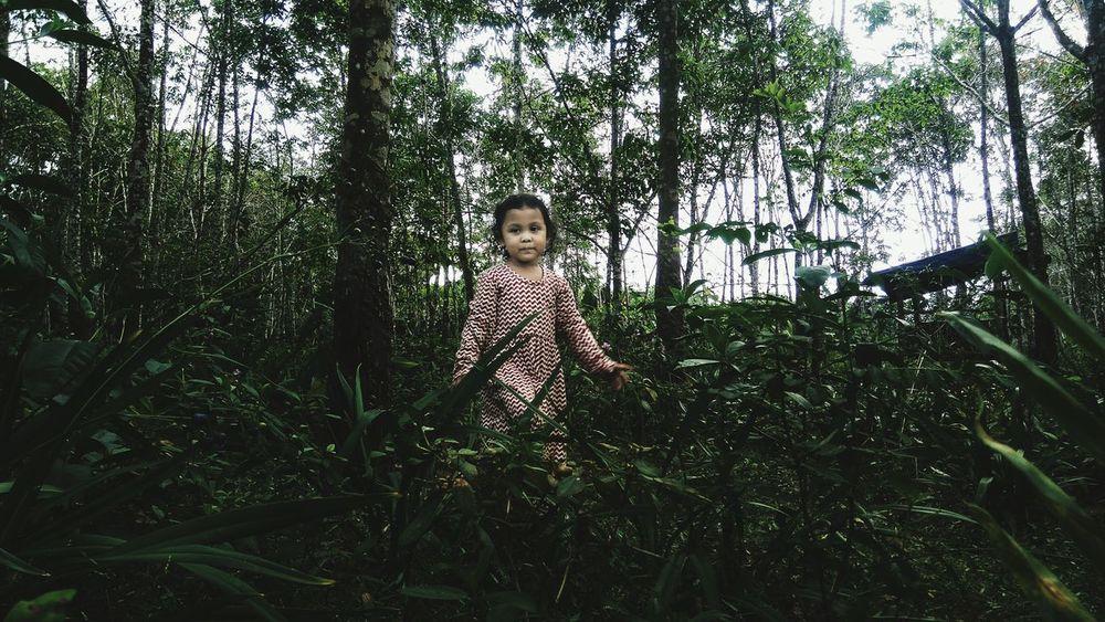 come here Jungle Humaninterestindonesia #market Tree Tree Childhood Full Length Child Baby Sky