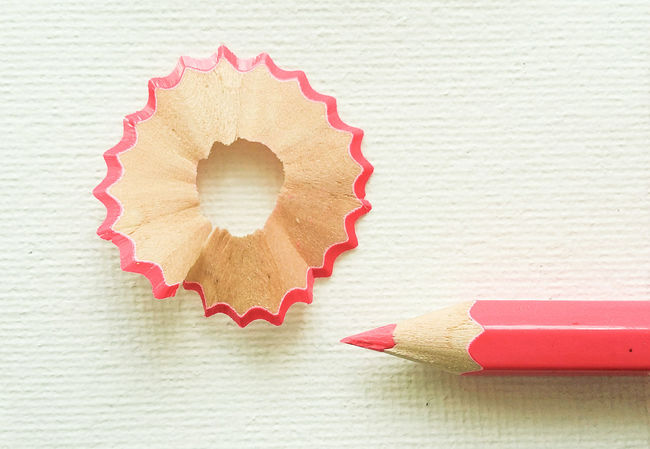 Art And Craft Creativity Ideas Fabric Pencil EyeEm Ready   Pencil Shavings Wood - Material White Background Close-up