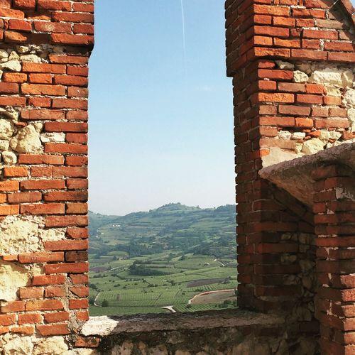 Castello di Soave, Italy Nature Medieval Medieval Castle Medieval Architecture Vineyard Vineyard Location Fortress Castle Ruin Castle Walls Castle View  Italy