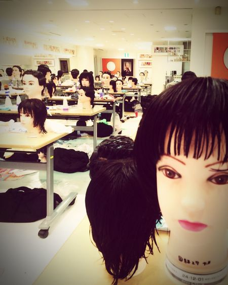 Everything In Its Place National examination Beautician School Cut All-frequency 2016 Academy Under a break