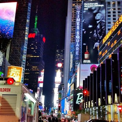 """""""The further I get, the further I want to go."""" @nasnyc TimesSquare NYC"""