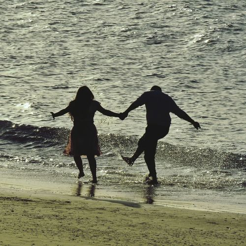 Amor Two People Beach Togetherness Water Sand Sea Silhouette Love Leisure Activity Lifestyles Bonding Outdoors Vacations Nature Day Photography Themes Photographing Sun Nature Beauty In Nature Love Igersbrasil IgersCeará Cearaemfotos Ceará