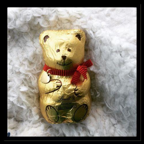 Golden bear ❤️ Chocolate Lindtchocolate Goldenbear Yummy Treatyoself