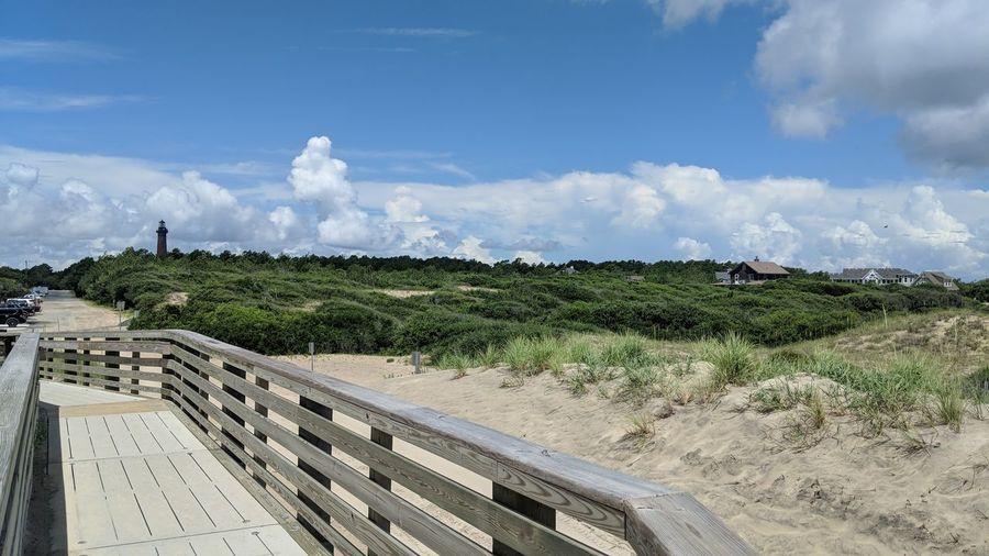 Lighthouse Summer Tree Irrigation Equipment Water Agriculture Sky Landscape Cloud - Sky Sandy Beach