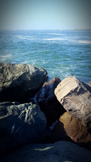 The Shore Or The Sea.... Hugerocks Bigrocks for Fishing Time Ocean Waves Waves, Ocean, Nature Pacific Ocean Pacific Northwest  WestCoast Northcalifornia Blue Sky Bluewater Relaxing Moments Nature_collection Nature Photography Nature's Diversities
