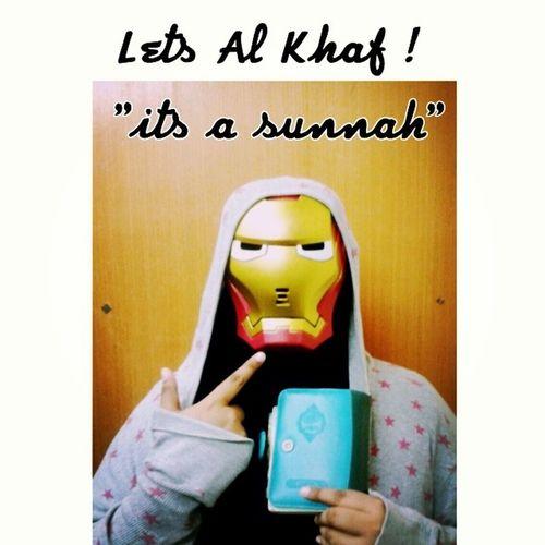 Uhuk ! Lets recite Al Khaf ! Thesunnahthebetter Alkhaf Holly AlQuran loveletter deen almightybless ironwoman ______________________________________________ ~An unsung legend and a non stop fighter~ NurSyiffaRosman {LOC}